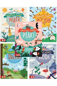 Pakiet Niezwykła planeta: Wiatr, Woda, Drzewa, Ptaki, Pszczoły