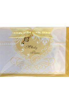 Karnet ślubny B6 Premium 53 + koperta