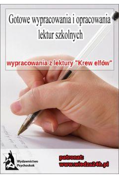 Wypracowania - Andrzej Sapkowski