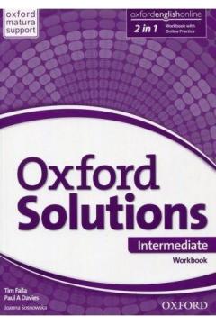 Oxford Solutions Intermediate. Workbook with Online Practice