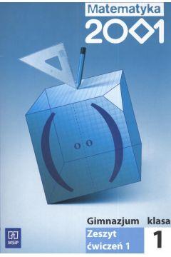 Matematyka 2001 1 Zeszyt ćwiczeń Część 1