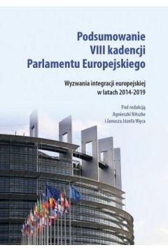 Podsumowanie VIII kadencji Parlamentu EU