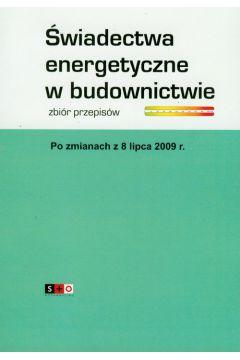 Świadectwa energetyczne w budownictwie