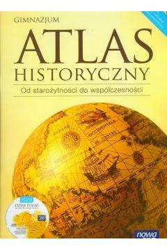 Atlas historyczny od starożytności do współczesności z płytą CD