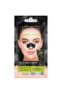 Carbo Detox węglowe plastry na nos z aktywnym węglem