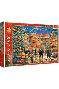 Puzzle Świąteczny rynek 1000