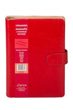 Organizer Memofix A5 233 Czerwony