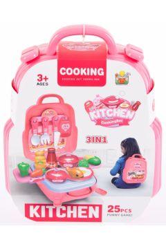 Kuchnia z akcesoriami plecak