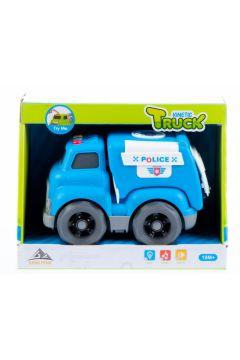 Auto Policja światło/dźwięk 21x16x12cm MC