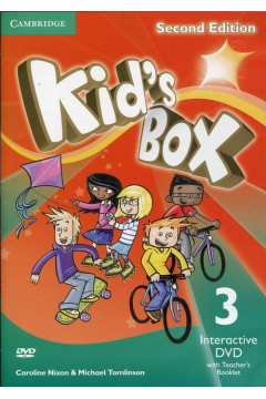 Kid's Box Second Edition 3 Interactive DVD (NTSC) with Teacher's Booklet