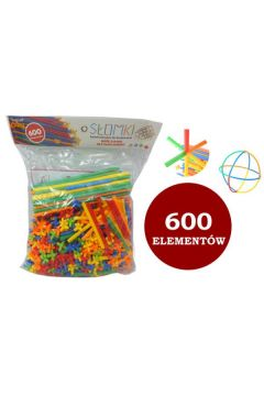 Klocki - Słomki 600el worek 1003957