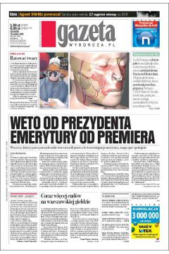 Gazeta Wyborcza - Kielce 295/2008