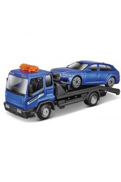 Str. Fire Tow Truck W Audi A6 Avant 1:43 BBURAGO