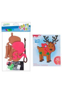 Zestaw kreatywny  EVA Boże Narodzenie  Renifer MEGA CREATIVE 463713