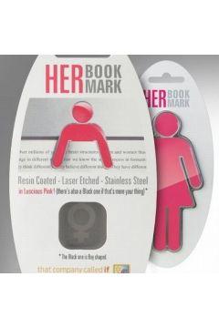 HER Bookmark - metalowa zakładka do książki