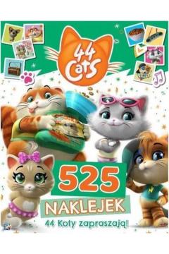 44 Koty. 525 naklejek