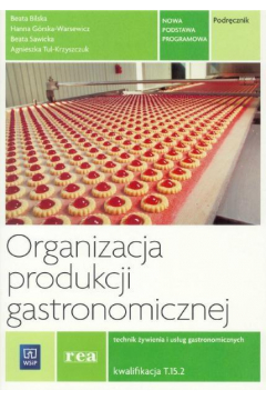 Organizacja produkcji gastronomicz. Kwal. T.15.2