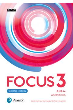 Focus Second Edition 3. Workbook + kod(MyEnglishLab + Online Practice)