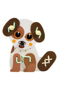 Zabawka drewniana. Pies Papi