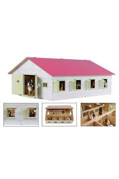 Stajnia 7 boxów drewniana 72.5x60x38