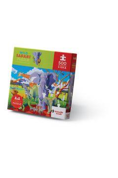 Puzzle 500 Dzikie safari