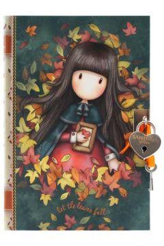 Notes z kłódką - Autumn Leaves