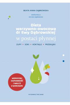 Dieta warzywno-owocowa dr Ewy Dąbrowskiej w postaci płynnej. Koktajle, soki, zupy, przekąski
