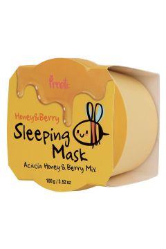 Honey & Berry Sleeping Mask odżywcza maska na noc Miód i Owoce Leśne