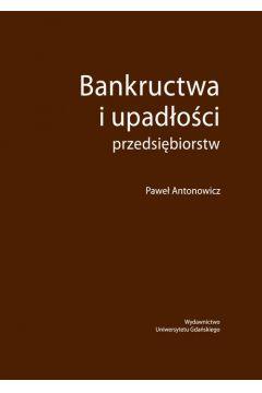 Bankructwa i upadłości przedsiębiorstw