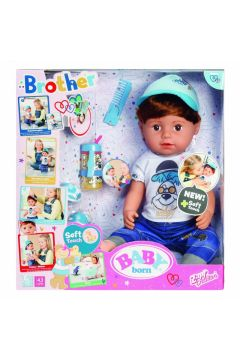 Baby born - Lalka interaktywna braciszek 43cm