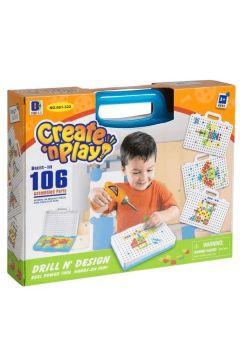 Zestaw kreatywny w walizce 150 elementów