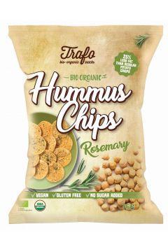 Chipsy z ciecierzycy z rozmarynem bezglutenowe