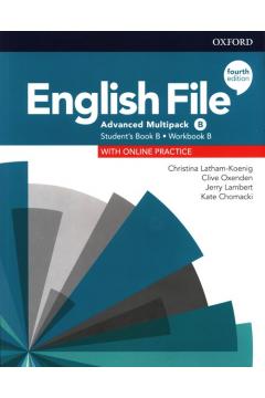 English File 4E Advanced Student's Book/Workbook MultiPack B