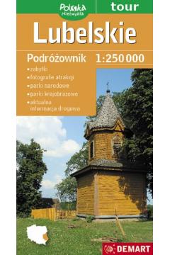 Lubelskie Podróżownik 1:250 000 Mapa turystyczna