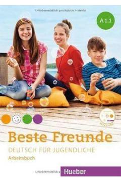 Beste Freunde A1.1. Zeszyst ćwiczeń. Wersja niemiecka