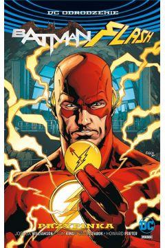 Batman. Flash Przypinka. Okładka z Flashem