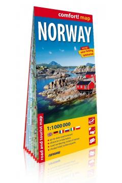 Comfort! map Norwegia (Norway) 1:1 000 000