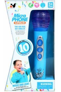 Mikrofon plastikowy na baterie