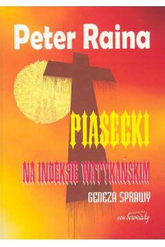 Piasecki na indeksie watykańskim Geneza sprawy