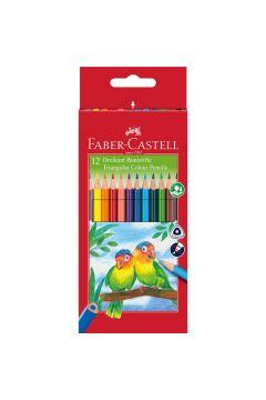 Kredki Eco Colour 12 kolorów + temperówka
