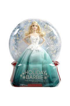 Świąteczna Barbie zielona