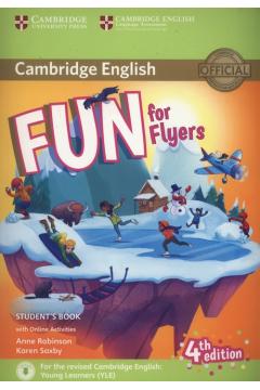 Fun for Flyers Student's Book + Online Activities