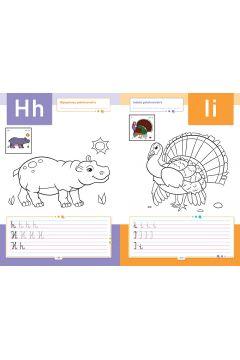 Pisanie literek ze zwierzętami