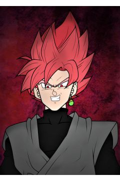 Dragon Ball - Goku Black - plakat