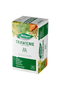 Herbatka ziołowa Trawienie + praca wątroby Suplement diety