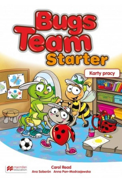 Bugs Team Starter. Karty pracy do zerówki. Język angielski