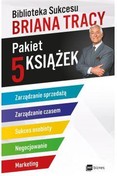 Pakiet biblioteka sukcesu briana tracy zarządzanie sprzedażą / zarządzanie czasem / sukces osobisty / negocjowanie / marketing