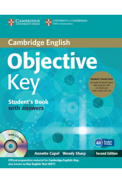 Objective Key Student's Book with answers + 3CD