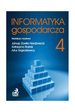 Informatyka Gospodarcza. Tom IV