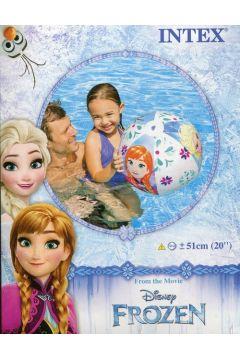 Piłka plażowa - Frozen 51cm